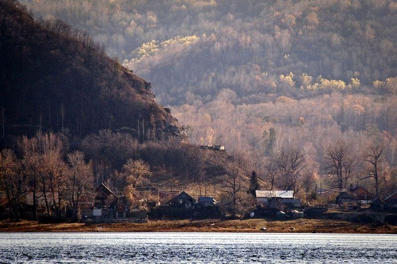 Село Бахилова Поляна и примыкающие горы