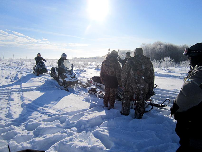 Снегоходы Самарская Лука