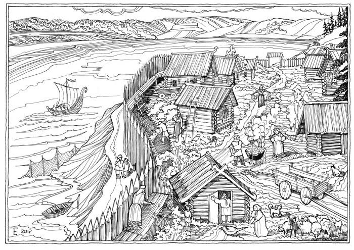 Начало села Бахилово — предание