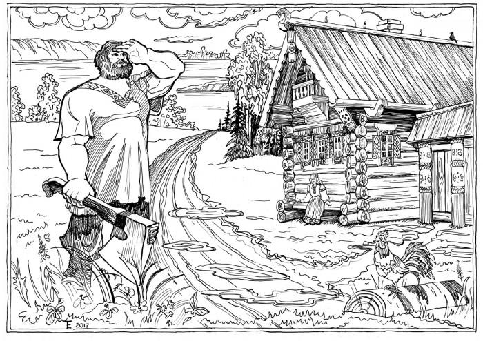 Начало села Севрюкаево — предание