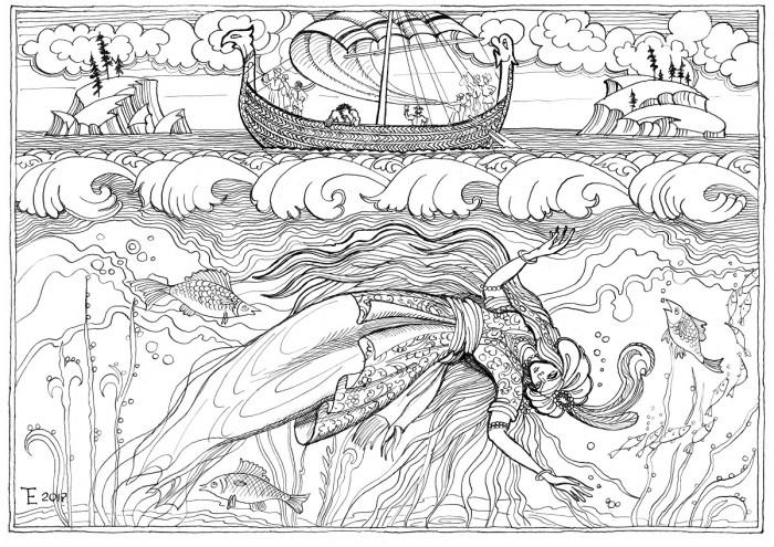 Разин и персидская княжна — лирическое предание