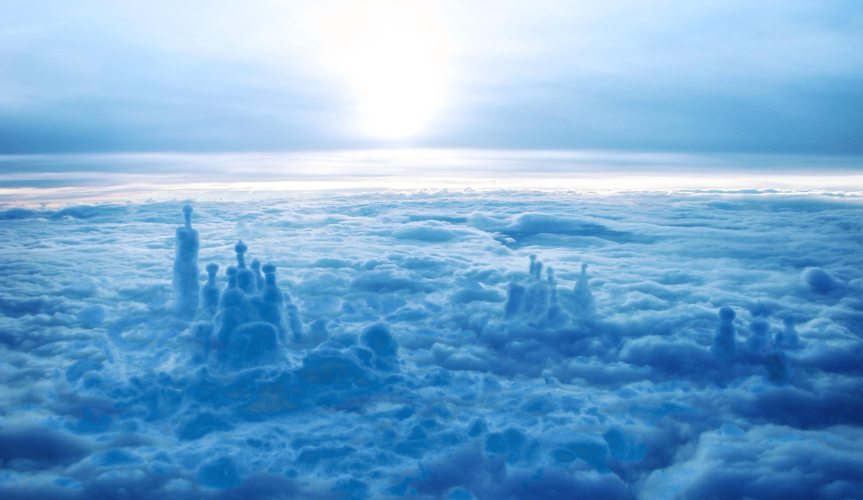 Фата-моргана в облаках