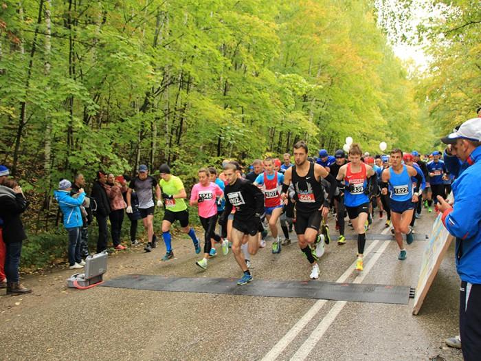 Финишировал 26-й Всероссийский экологический марафон «Самарская Лука»
